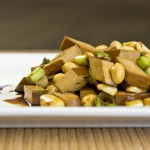 Extra Firm Bean Curd with Peanuts Appetizer